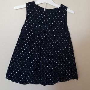 Polka Dot Corduroy Dress